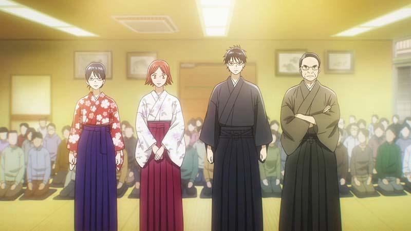 I finalisti delle qualificazioni di karuta.