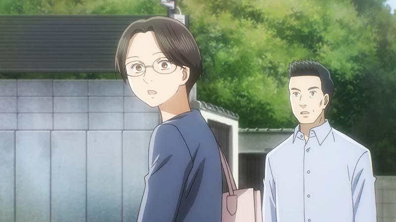 I genitori di Arata Wataya